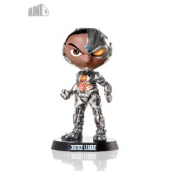 Justice League figurine Mini Co. Cyborg Iron Studios