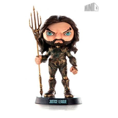 Justice League figurine Mini Co. Aquaman Iron Studios