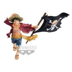 One Piece figurine magazine Monkey D. Luffy Banpresto