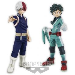 My Hero Academia assortiment figurines DXF 15 cm Izuki Midoriya & Shoto Todoroki Banpresto