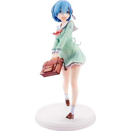 Re:ZERO -Starting Life in Another World- statuette 1/7 Rem High School Uniform Ver. Kadokawa