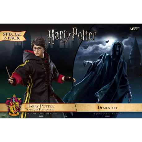 Harry Potter pack 2 figurines 1/8 Dementor et Harry Potter Star Ace Toys