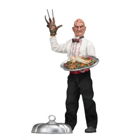 Nightmare On Elm Street 5 figurine Retro Chef Freddy NECA