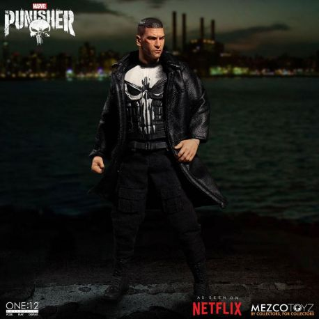Marvel Universe figurine 1/12 Punisher (TV Series) Mezco Toys