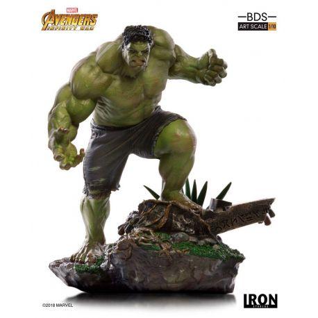 Avengers Infinity War statuette BDS Art Scale 1/10 Hulk Iron Studios