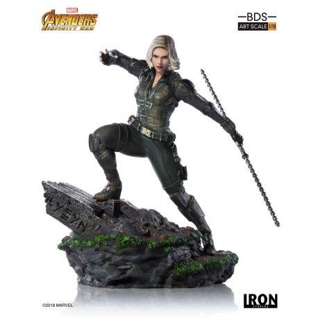Avengers Infinity War statuette BDS Art Scale 1/10 Black Widow Iron Studios