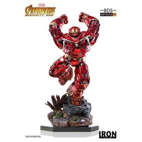 Avengers Infinity War statuette BDS Art Scale 1/10 Hulkbuster Iron Studios