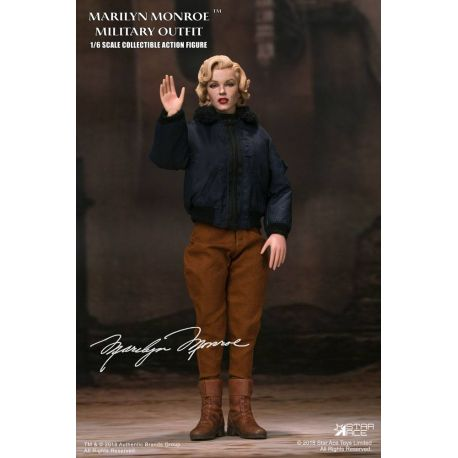 Marilyn Monroe figurine My Favourite Legend 1/6 Military Outfit Star Ace Toys