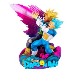 Dragonball Super figurine Super Master Stars Piece Vegeta & Trunks Special Color Version Banpresto