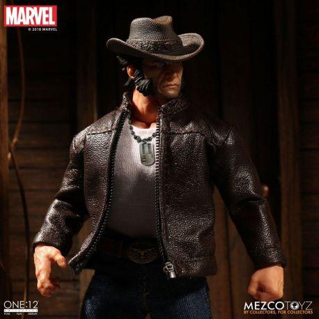 Marvel Universe figurine 1/12 Logan Mezco Toys