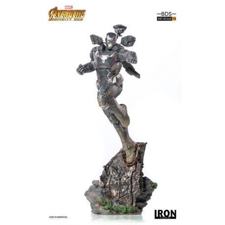 Avengers Infinity War statuette BDS Art Scale 1/10 War Machine Iron Studios