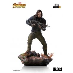 Avengers Infinity War statuette BDS Art Scale 1/10 Winter Soldier Iron Studios