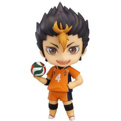 Haikyu!! Second Season figurine Nendoroid Yu Nishinoya Orange Rouge