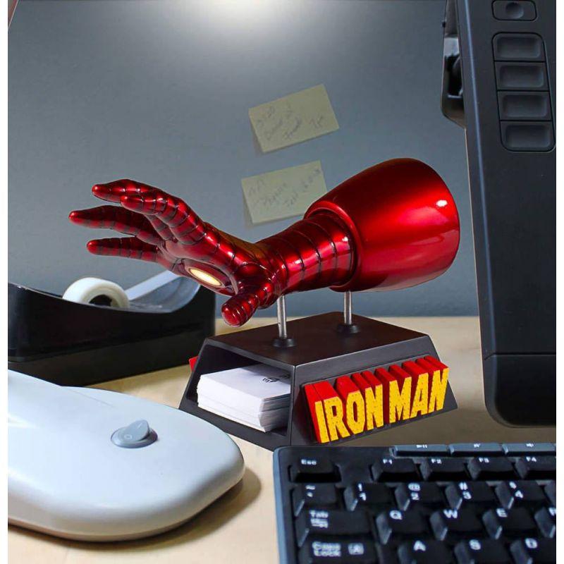 Marvel rangement pour cartes de visite / accessoire de bureau gant Iron Man Gentle Giant ...