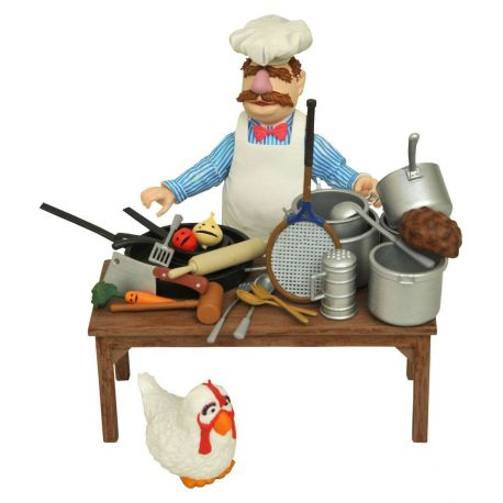 The Muppets figurine The Swedish Chef Deluxe Gift Set Diamond Select