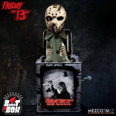 Vendredi 13 boite à musique Diable en boîte Burst-A-Box Jason Voorhees Mezco Toys