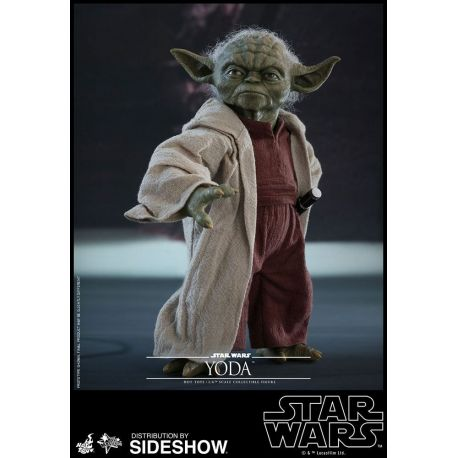 Star Wars Episode II figurine Movie Masterpiece 1/6 Yoda Hot Toys