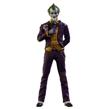 Batman Arkham Asylum figurine Videogame Masterpiece 1/6 The Joker Hot Toys