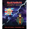 Iron Maiden Legacy of the Beast pack 2 badges Trooper Eddie & General ICD