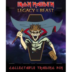 Iron Maiden Legacy of the Beast badge Vampire Hunter Eddie ICD