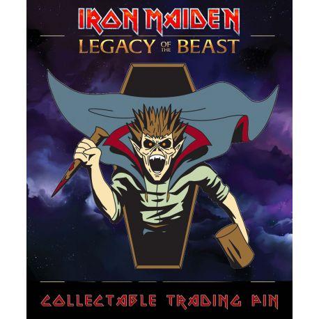 Iron Maiden Legacy of the Beast badge Vampire Hunter Eddie ICD