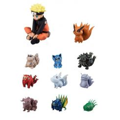 Naruto pack 11 figurines Naruto & Bijuu Megahouse