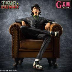 Tiger & Bunny série G.E.M. statuette 1/8 S.O.C. Kotetsu Megahouse