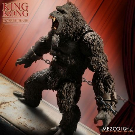 King Kong figurine King Kong of Skull Island Mezco Toys