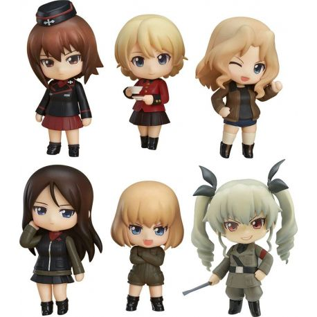 Girls und Panzer der Film pack 6 figurines Nendoroid Petite Other High Schools Ver. Good Smile Company