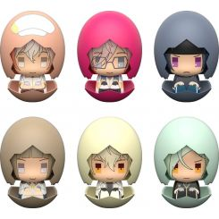 Touken Ranbu Hanamaru assortiment figurines Piyokuru 02 Orange Rouge
