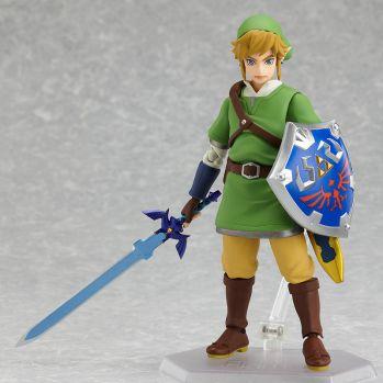 The Legend of Zelda Skyward Sword figurine Figma Link Max Factory