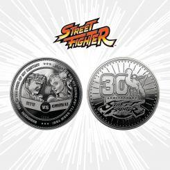Street Fighter pièce de collection 30th Anniversary Ryu vs Chun-Li Iron Gut Publishing