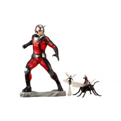 Marvel Comics statuette Avengers Series ARTFX+ 1/10 Astonishing Ant-Man & Wasp Kotobukiya