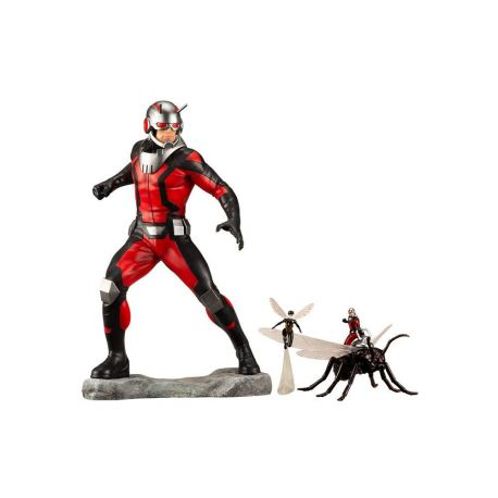 Marvel Comics statuette Avengers Series ARTFX+ 1/10 Astonishing Ant-Man & Wasp Kotobukiya