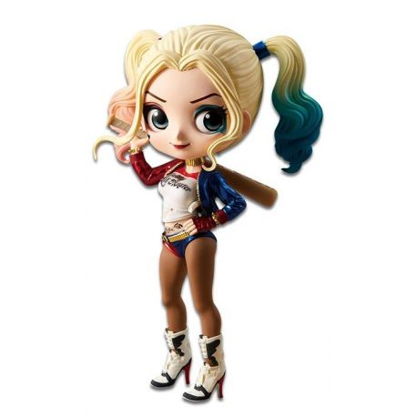 Suicide Squad figurine Q Posket Harley Quinn A Normal Color Version Banpresto