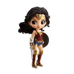 Justice League figurine Q Posket Wonder Woman A Normal Color Version Banpresto