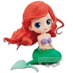 Disney figurine Q Posket Ariel A Normal Color Version Banpresto