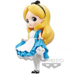 Disney figurine Q Posket Alice A Normal Color Version Banpresto