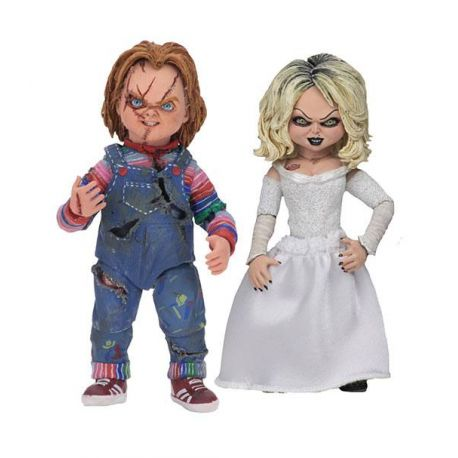 La Fiancée de Chucky pack 2 figurines Ultimate Chucky & Tiffany Neca