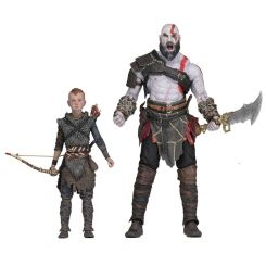God of War (2018) pack 2 figurines Ultimate Kratos & Atreus Neca