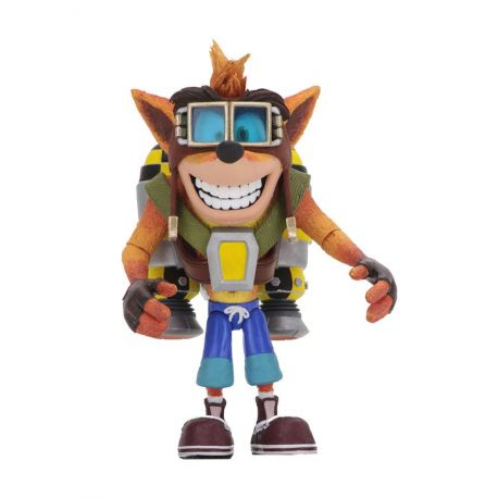 Crash Bandicoot figurine Deluxe Crash with Jetpack Neca