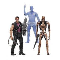 Terminator 2 assortiment figurines Kenner Tribute Neca