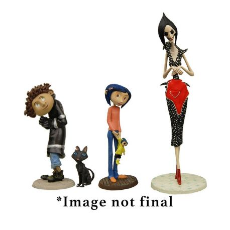 Coraline pack 4 figurines Best Of Neca