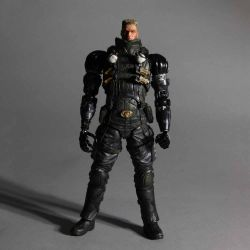 Deus Ex Play Arts Kai Vol. 1 figurine Lawrence Barrett 23cm