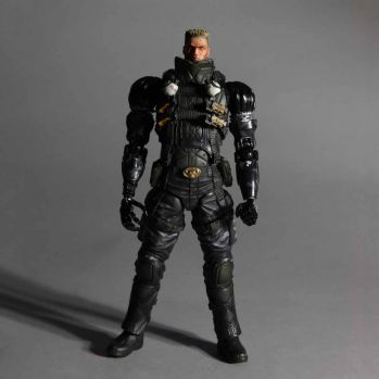 Deus Ex Play Arts Kai Vol. 1 figurine Lawrence Barrett 23cm