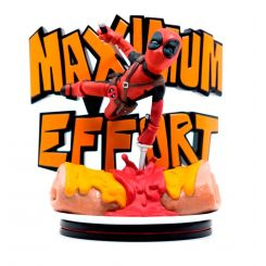 Marvel diorama Q-Fig MAX Deadpool Maximum Effort Quantum Mechanix