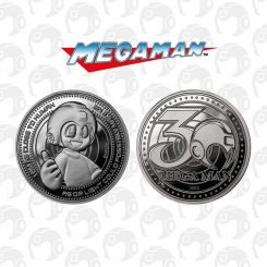 Mega Man pièce de collection 30th Anniversary Iron Gut Publishing
