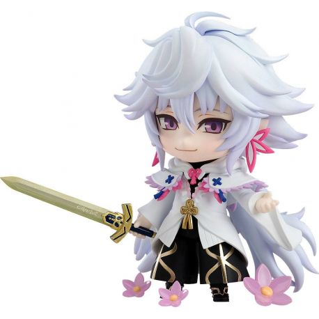 Fate/Grand Order figurine Nendoroid Caster/Merlin Magus of Flowers Ver. Orange Rouge