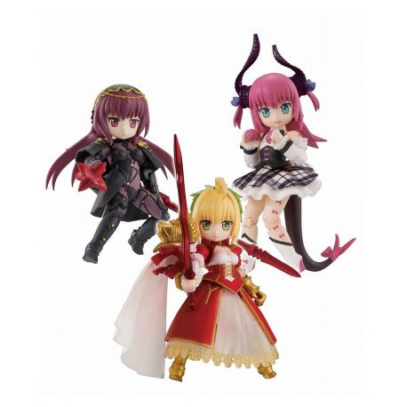 Fate/Grand Order assortiment figurines Desktop Army Nero & Elizabeth & Scasaha Megahouse