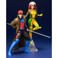 Marvel Universe pack 2 statuettes 1/10 ARTFX+ Gambit & Rogue (X-Men '92) Kotobukiya